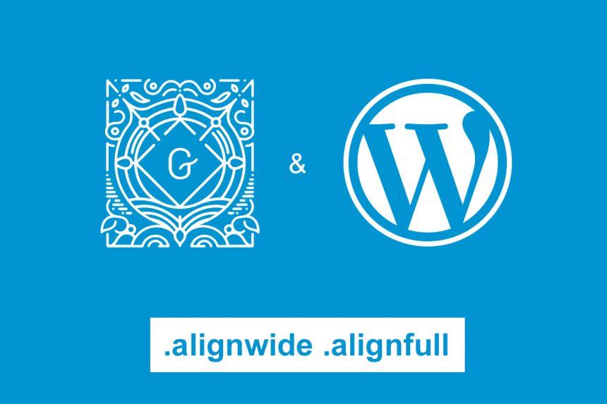 WordPress Gutenberg cover