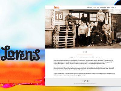 Lorens - strona internetowa