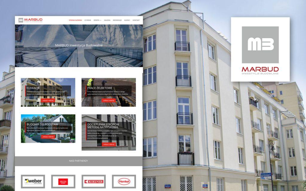 MARBUD INWESTYCJE BUDOWLANE - Strona internetowa, Identyfikacja wizualna