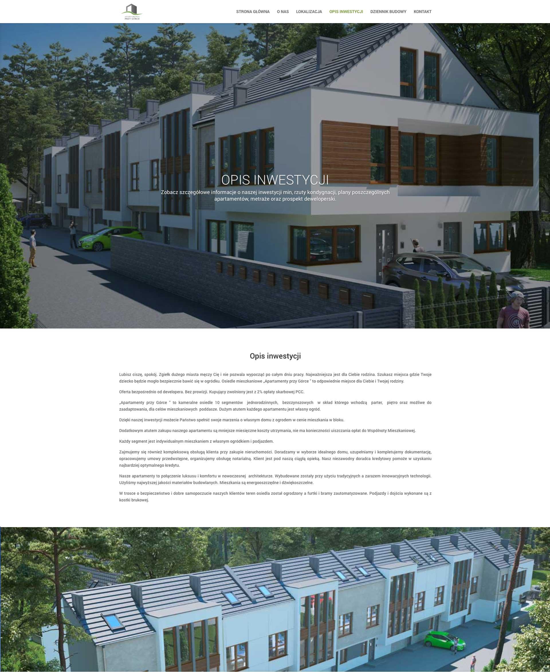 Apartamenty przy górce - Inwestycja Budowlana
